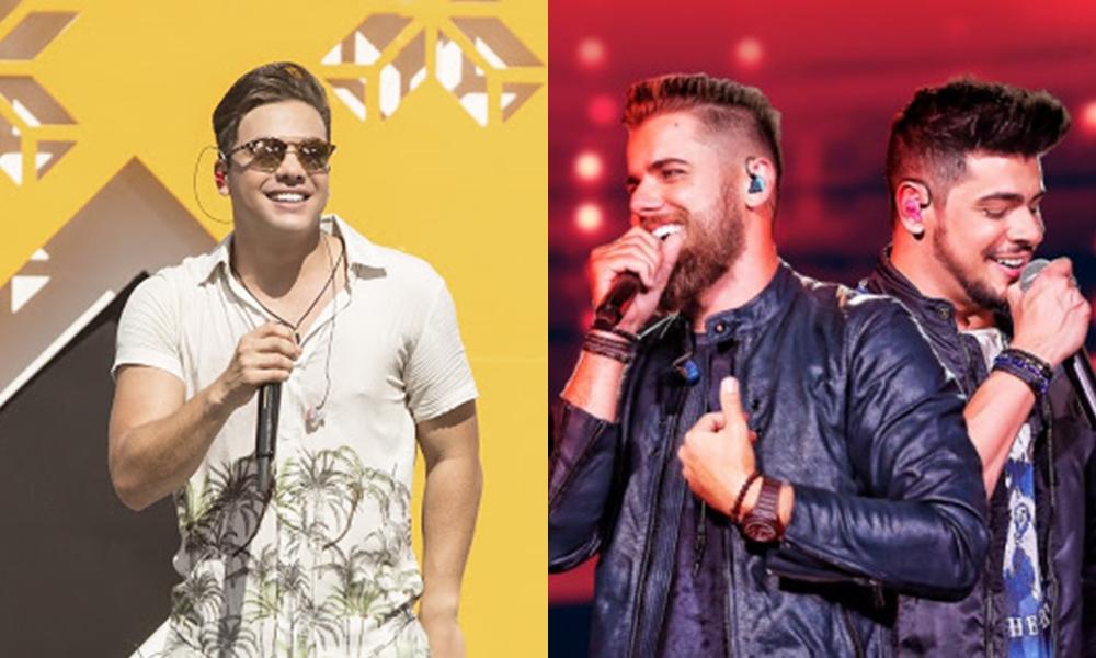 Lives de Wesley Safadão e Zé Neto & Cristiano prometem animar este sábado