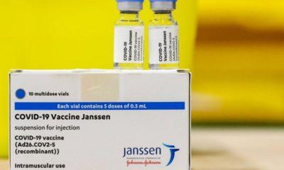 Remessa com 1,5 milhão de vacinas da Janssen chega ao Brasil
