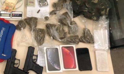 Rondesp captura traficante com munição, drogas e simulacros em Lauro de Freitas