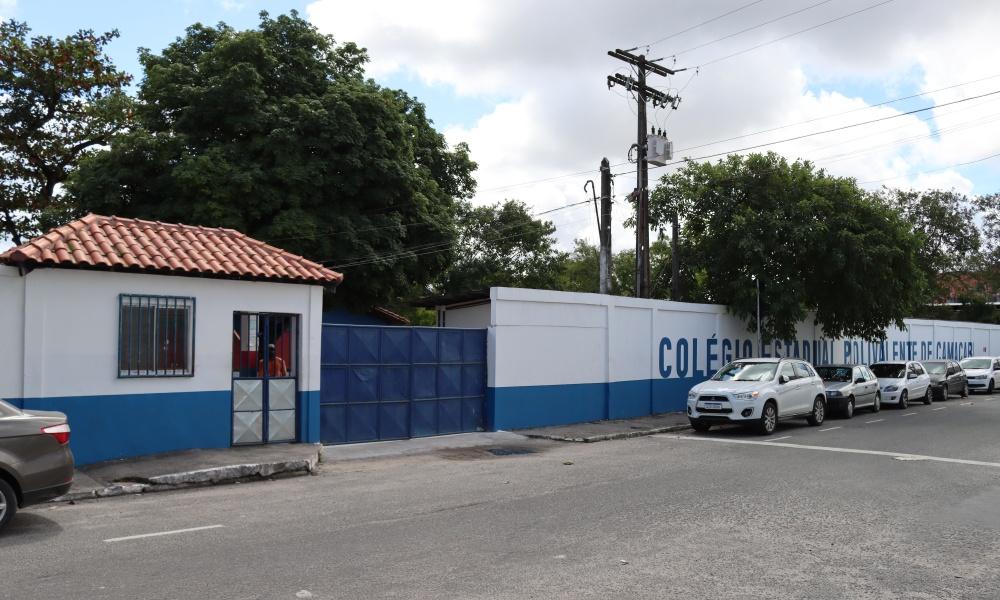 Colégio Estadual Polivalente de Camaçari terá complexo poliesportivo