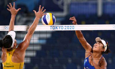 Olimpíadas: Ágatha e Duda perdem para as chinesas no vôlei de praia