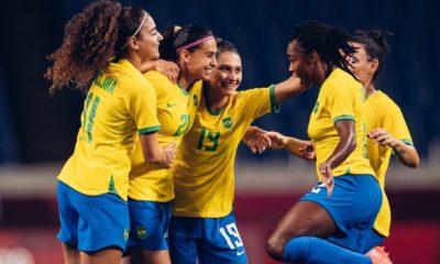 Brasil vence Zâmbia e avança para quartas de final das Olimpíadas de Tóquio