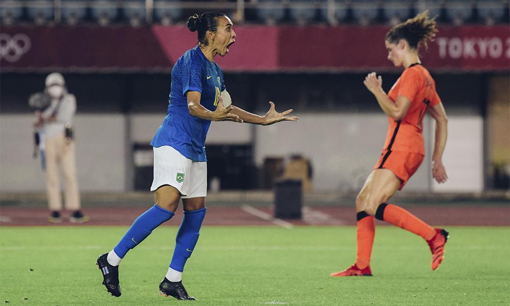 Seleção Brasileira Feminina de Futebol empata com Holanda em partida eletrizante