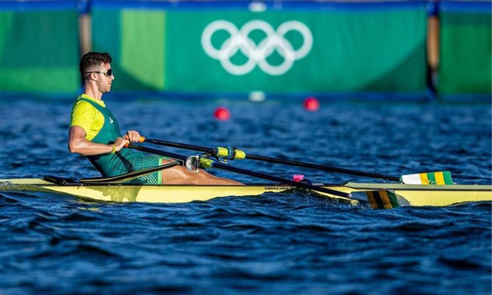 Lucas Verthein estreia na Olimpíada como único representante brasileiro no remo