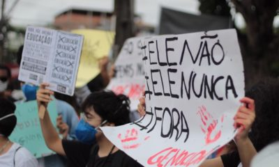 Camaçarienses vão às ruas em manifestação contra Bolsonaro neste sábado