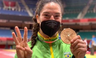 Mayra Aguiar conquista medalha de bronze em Tóquio e escreve seu nome na história das Olimpíadas