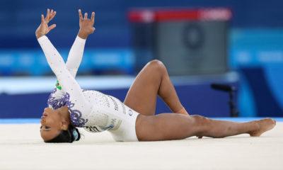 Tóquio: Rebeca Andrade disputa final do individual geral da ginástica artística na quinta-feira