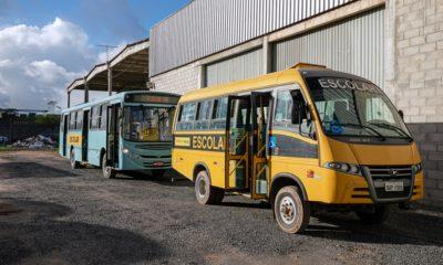 Transporte escolar terá protocolo especial no retorno das aulas semipresenciais