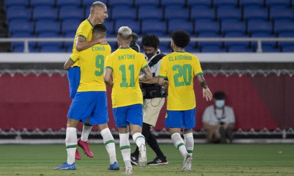 Brasil vence Alemanha na estreia das Olimpíadas de Tóquio com três gols de Richarlison