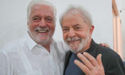 """""""Acho que tem muitas chances de ganhar"""", comenta Lula sobre possível candidatura de Jaques Wagner a governador"""