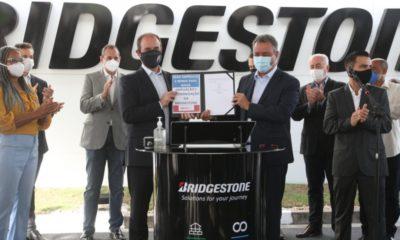 Bridgestone será ampliada com investimento de R$ 700 milhões
