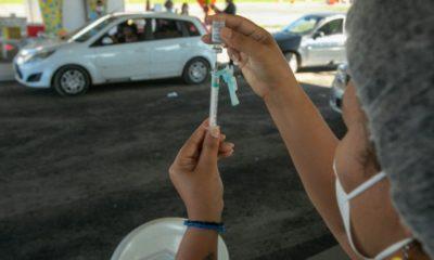 Covid-19: vacinação em Salvador segue para pessoas com 30 anos ou mais nesta quarta-feira