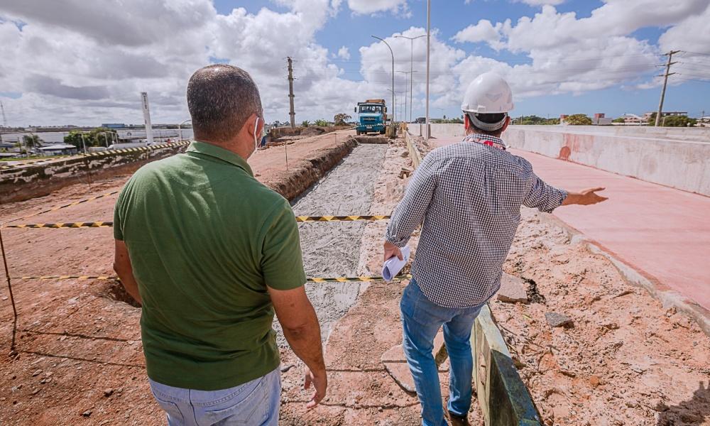 Construção de quarta alça do Viaduto do Trabalhador deve ser concluída em 90 dias