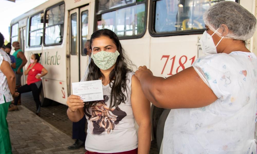 Lauro de Freitas antecipa aplicação da segunda dose da AstraZeneca