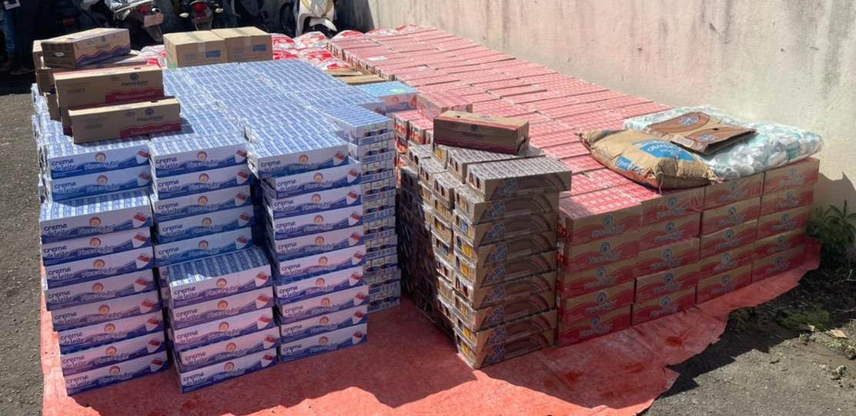 Carga roubada com 10 mil toneladas de laticínios é recuperada em Camaçari