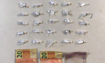 Homem é detido com 25 pedras de crack no bairro Mangueiral