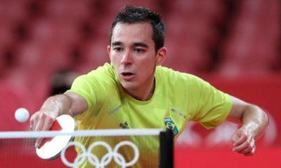 Histórico: Calderano põe Brasil nas quartas de final do tênis de mesa em Tóquio