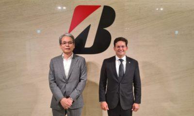 No Japão, João Roma se reúne com representantes da Bridgestone e Mitsui