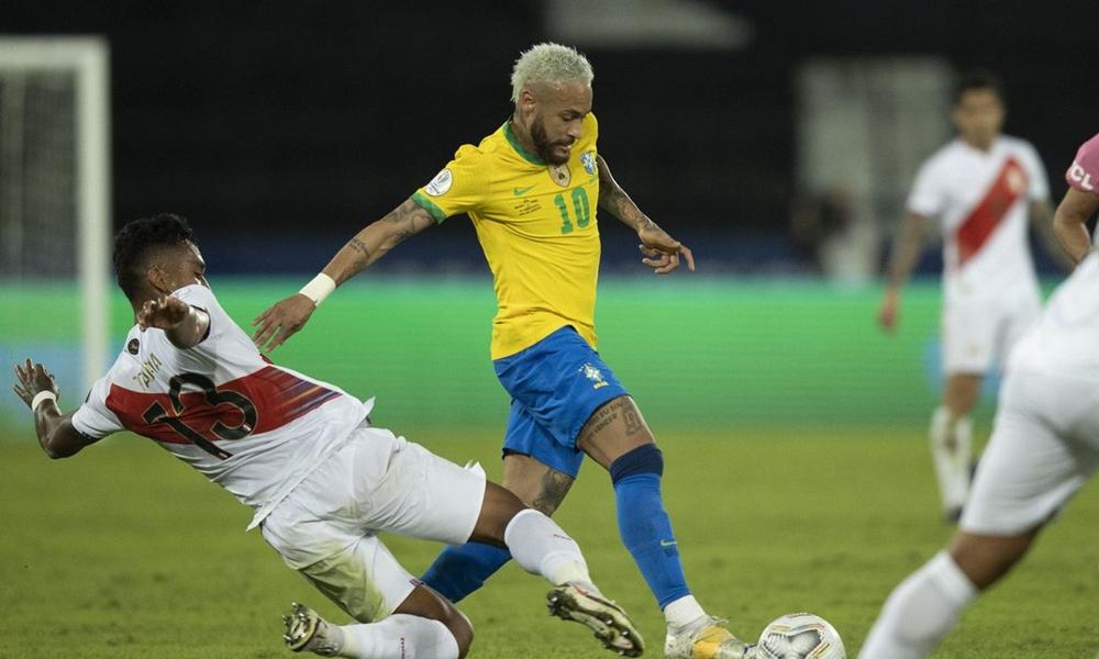 Brasil e Peru decidem vaga na final da Copa América nesta segunda