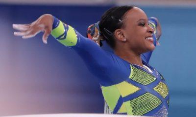 Olimpíadas: Rebeca Andrade é medalhista de prata no individual geral