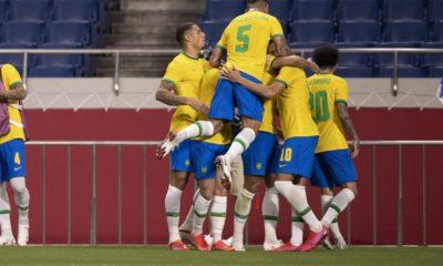 Olimpíadas: Brasil vence Egito e vai à semifinal do futebol masculino