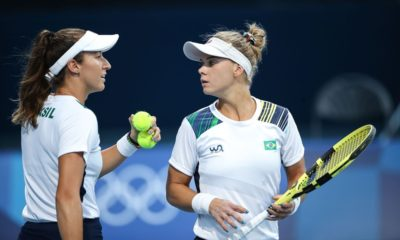 Tênis: Stefani e Pigossi vencem de virada e avançam às quartas de final em Tóquio