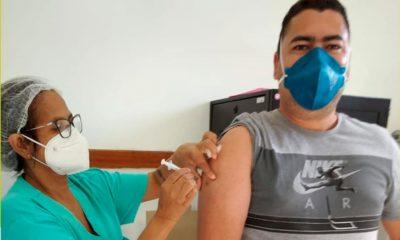 Mata de São João aplica segunda dose da AstraZeneca nesta sexta-feira