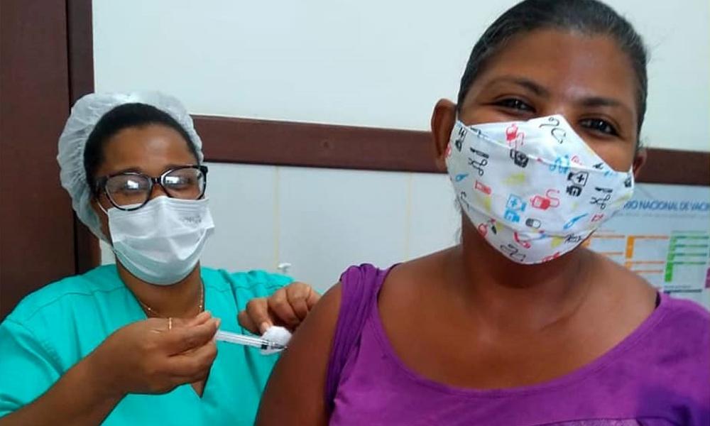 Mata de São João vacina hoje contra Covid-19 pessoas com 39 anos ou mais