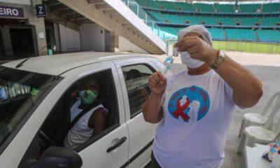 Mais de 290 mil baianos não retornaram para tomar a segunda dose da vacina contra Covid-19