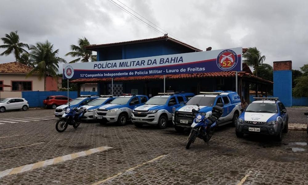 Homem é preso em flagrante após agredir ex-companheira em Lauro de Freitas