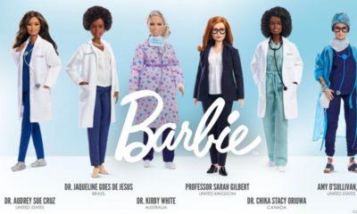 Brasileira Jaqueline Góes é homenageada com nova boneca da Barbie