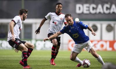 Vitória empata com Cruzeiro e continua na zona de rebaixamento