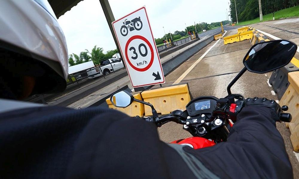 Motocicletas terão isenção de pedágio em novas concessões de rodovias