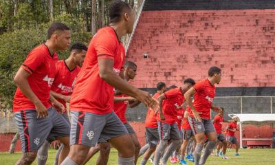 Vitória finaliza preparação para enfrentar o Brusque pelo Brasileirão Série B