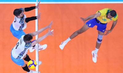 Brasil perde para Argentina no vôlei masculino e fica sem medalha de bronze