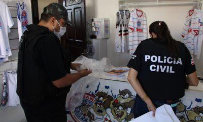 DHPP efetua prisão e apreensões na sede da Bamor