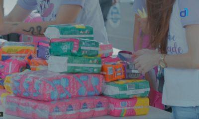 Assista: campanha Doe Liberdade arrecada mais de 8 mil absorventes