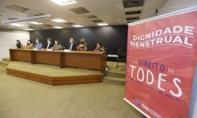 Dignidade Menstrual: projeto distribuirá absorventes a 206 mil estudantes da rede pública estadual