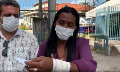 Professora Angélica relata que foi agredida por segurança da Escola Boaventura