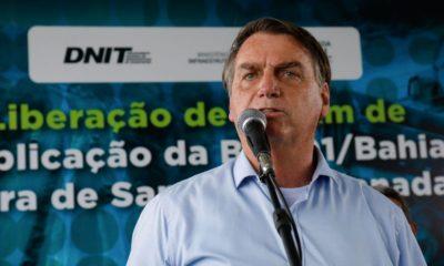 Bolsonaro desembarca na Bahia na próxima semana