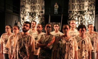 """Espetáculo """"Primeiro de Abril"""" será exibido online e gratuito pelo Teatro Vila Velha"""