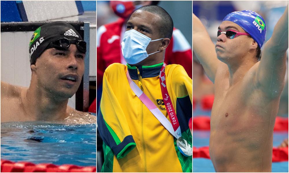 Natação conquista primeiras medalhas do Brasil nas Paralimpíadas de Tóquio 2020