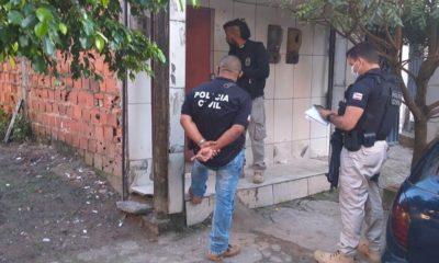 Foragido com mandado de prisão em aberto por roubo é preso em Candeias