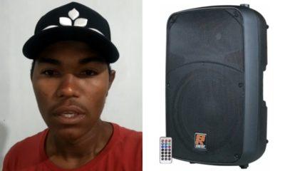 Após fazer apelo, locutor recebe doação de caixa de som e equipamento furtado é devolvido