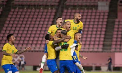 Brasil vence México nos pênaltis e disputa medalha de ouro no sábado