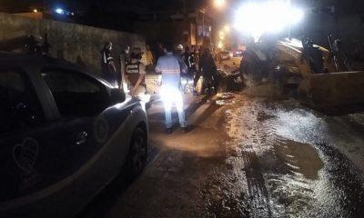 Funcionário morre e dois ficam feridos após serem soterrados em obra da Embasa em Lauro de Freitas