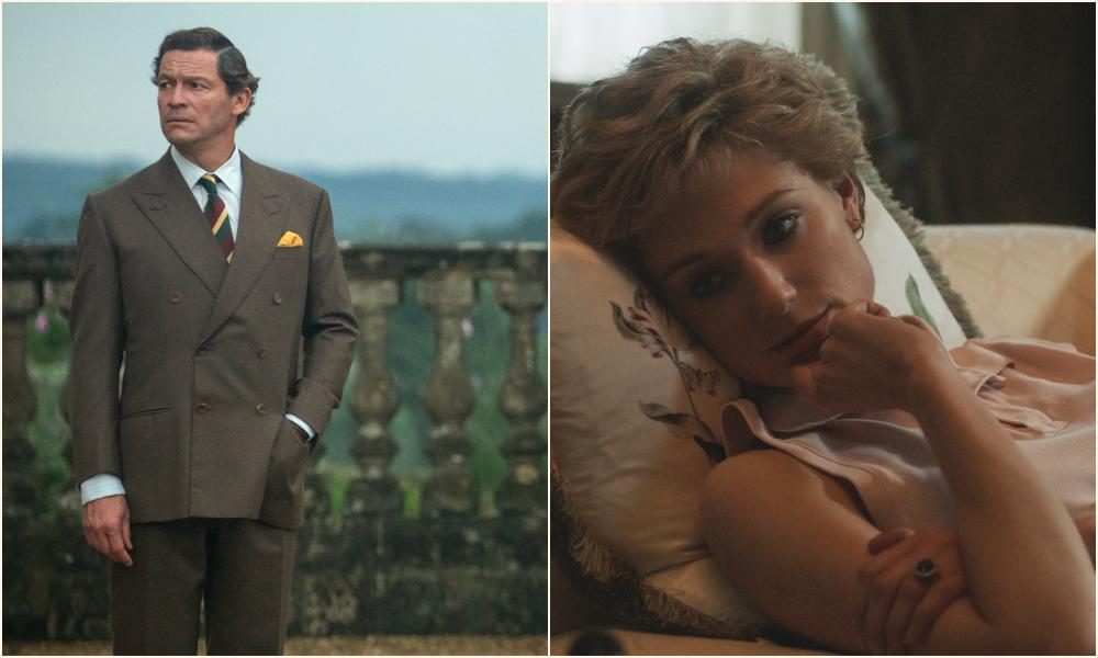 Netflix divulga imagens dos novos Charles e Diana de The Crown