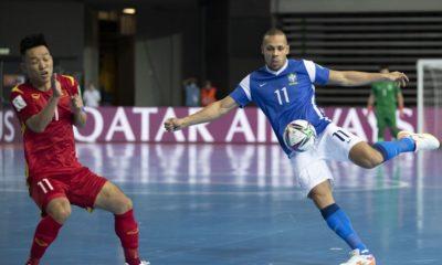 Seleção Brasileira goleia Vietnã na estreia da Copa do Mundo de Futsal