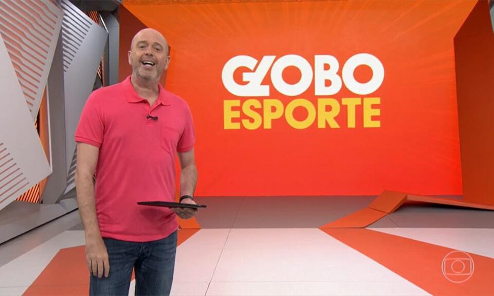 Alex Escobar é afastado do Globo Esporte depois de testar positivo para Covid-19