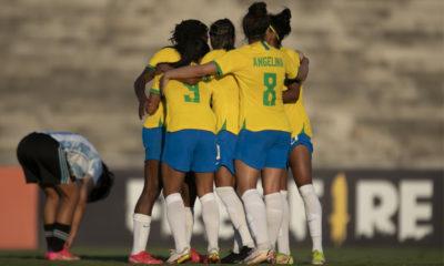Seleção Brasileira Feminina de futebol volta a enfrentar Argentina na próxima segunda-feira